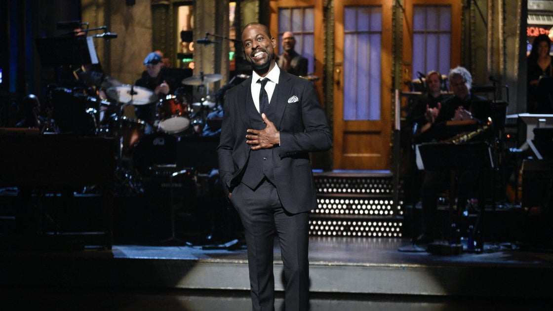 Sterling K. Brown Takes Center Stage At 'Saturday Night Live' Debut