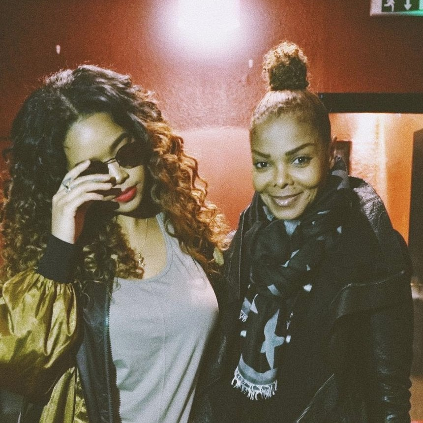 Black Girl Magic: Janet Jackson Surprises R&B Songstress H.E.R. At Her Sold-Out Show In London