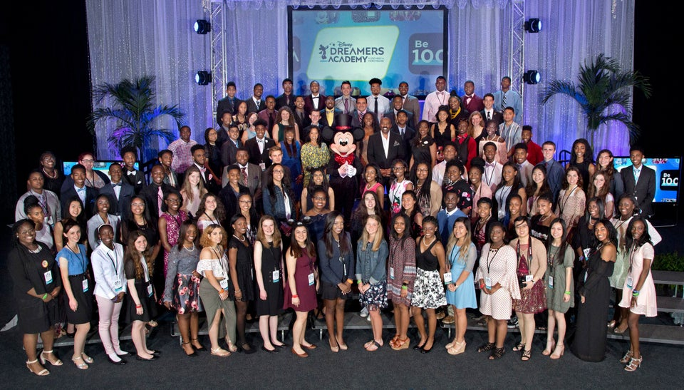 A Look At The Best Moments From The 2018 Disney Dreamer's Academy