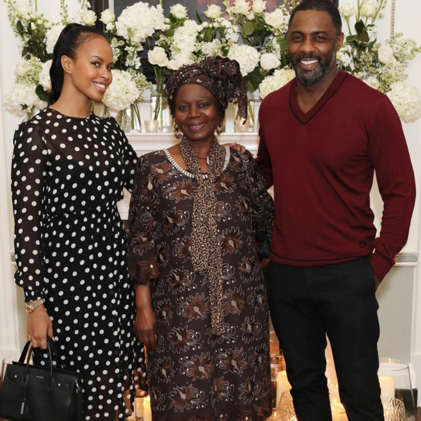 Idris Elba, His Fiancée Sabrina Dhowre and His Mom All Hung Out With Oprah...And We're So Jealous!