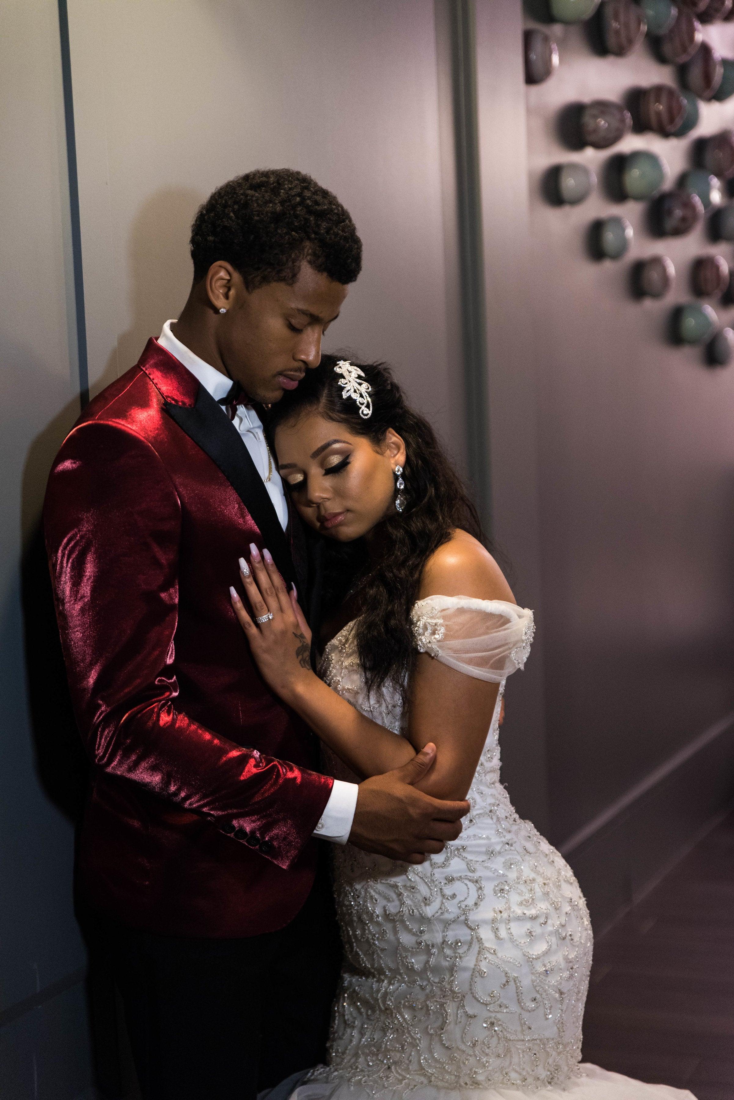 Bridal Bliss Nba Star Trey Burke And Wife Demonique Columbus Ohio