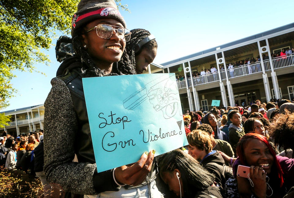 Students Across the Nation Walk Out To Demand Action On Gun Control