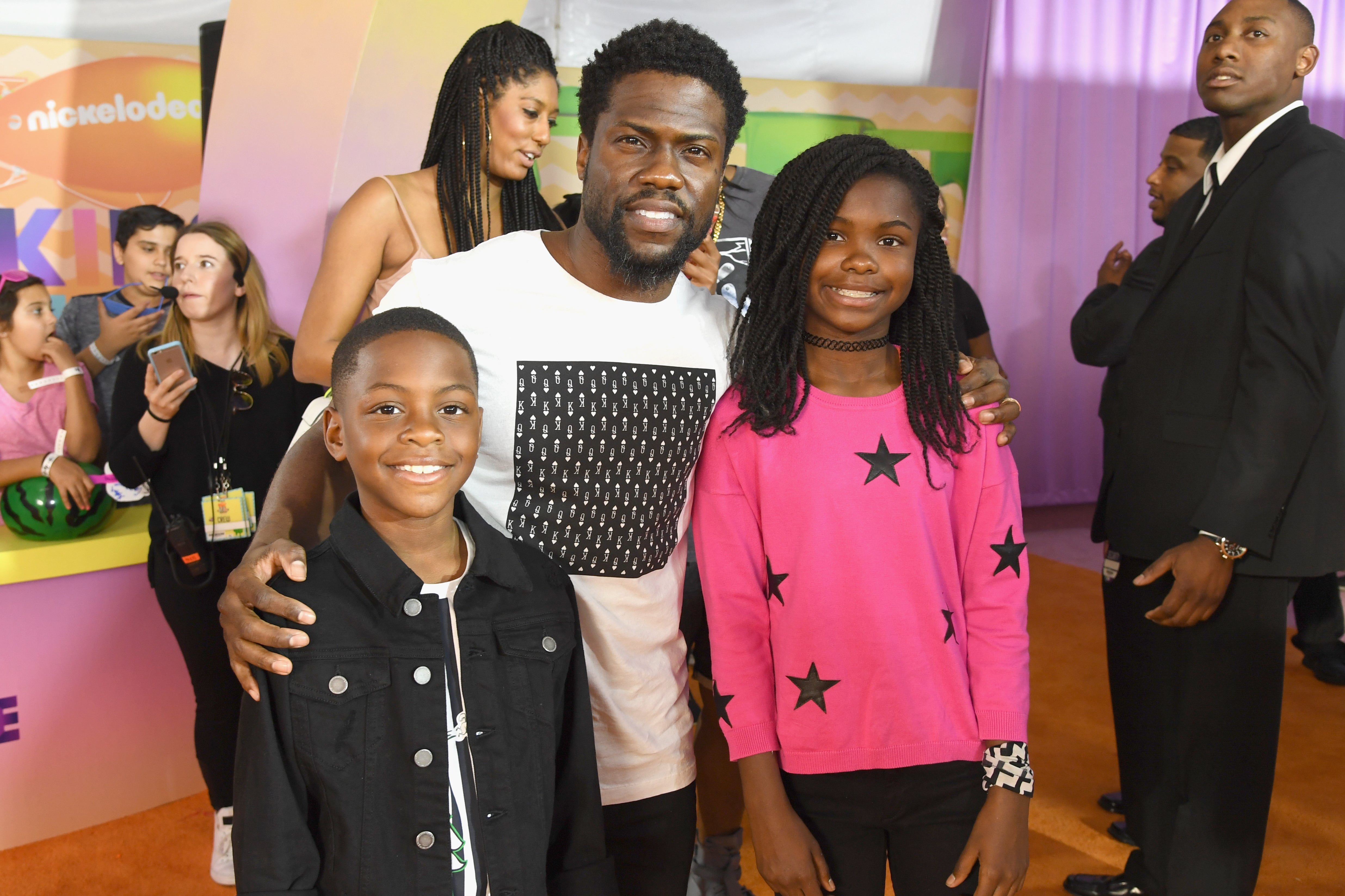Kevin Hart And Ex-Wife Torrei Hart Threw A 'Black Panther'-Themed Birthday Bash For Daughter Heaven