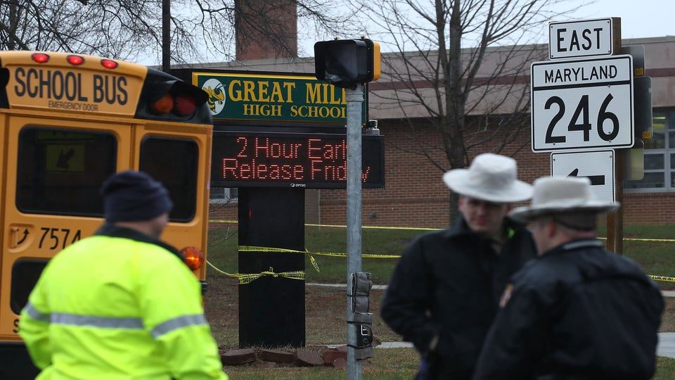 A Maryland High School Just Experienced A Shooting Less Than A Week After A National Gun Violence Walk Out