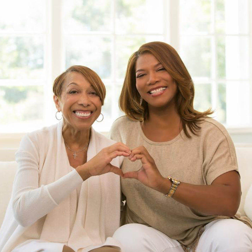 10 Sweet Photos Of Queen Latifah And Her Mom, Rita Owens, Through The Years