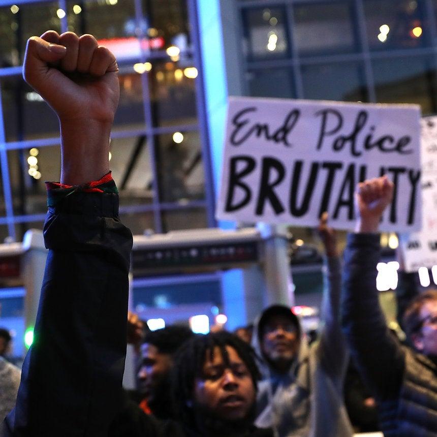 Protesters In Sacramento Block NBA Game Over The Police KillingOf Stephon Clark