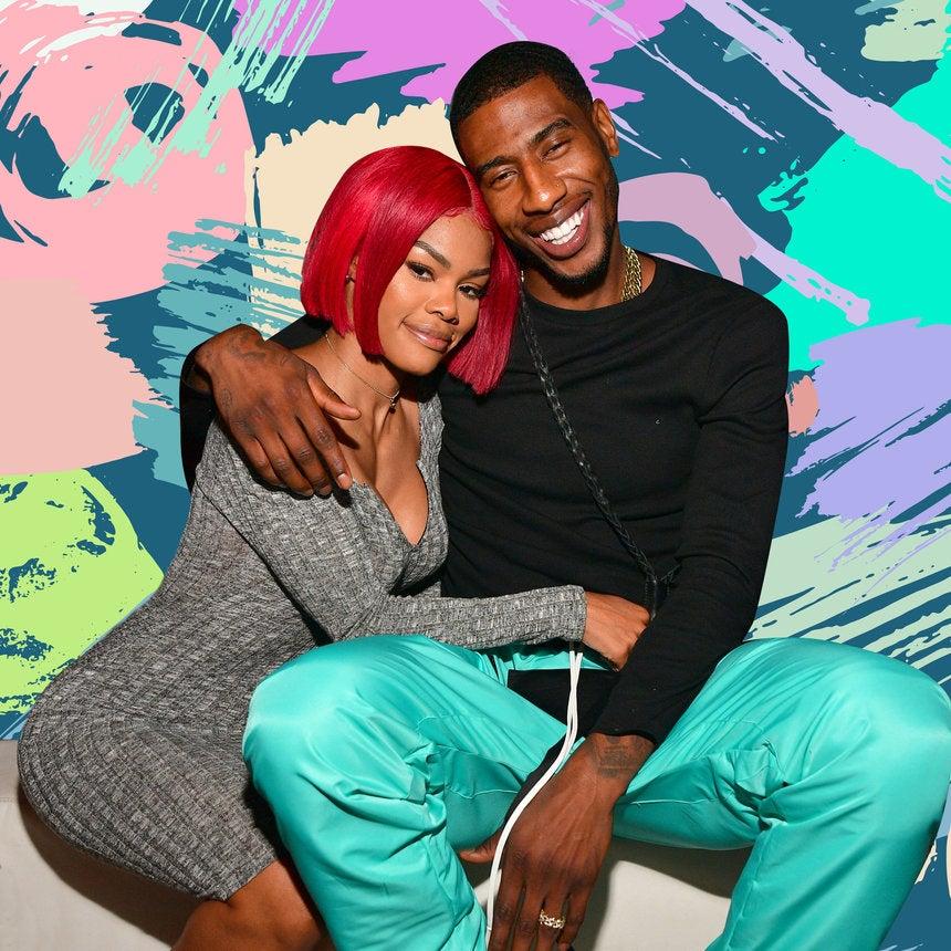 Aww! Teyana Taylor Held Husband Iman Shumpert Down At His ATL Performance
