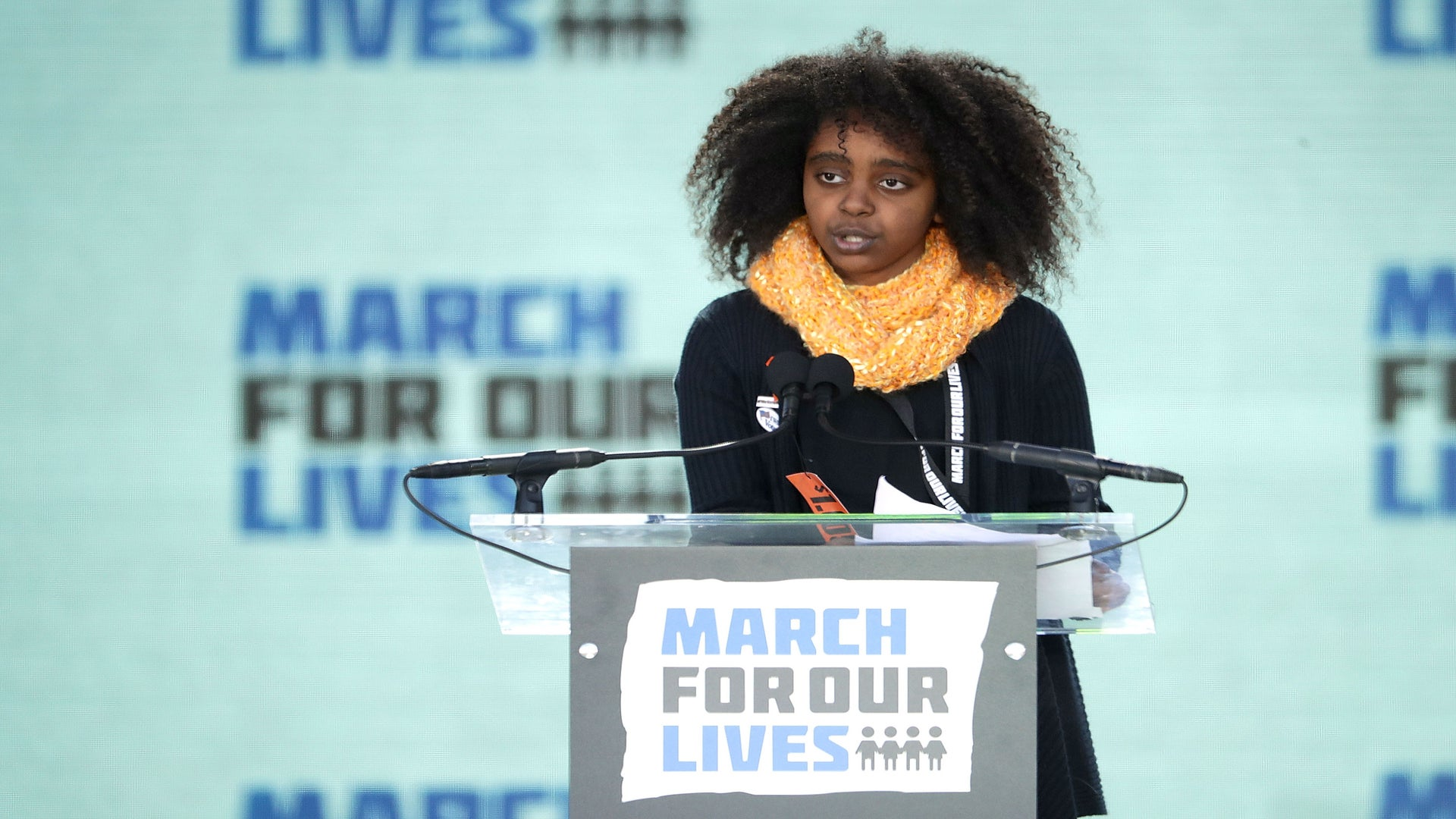 Fifth Grader Naomi Wadler Reminds 'March For Our Lives' Rally To Honor Black Girls Too
