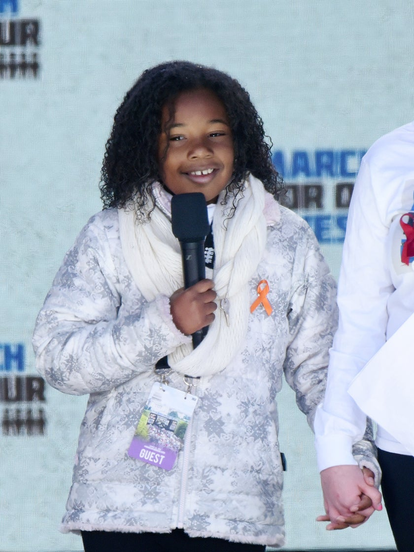 Martin Luther King Jr.'s Granddaughter Shares Her Dream Of A 'Gun Free World'