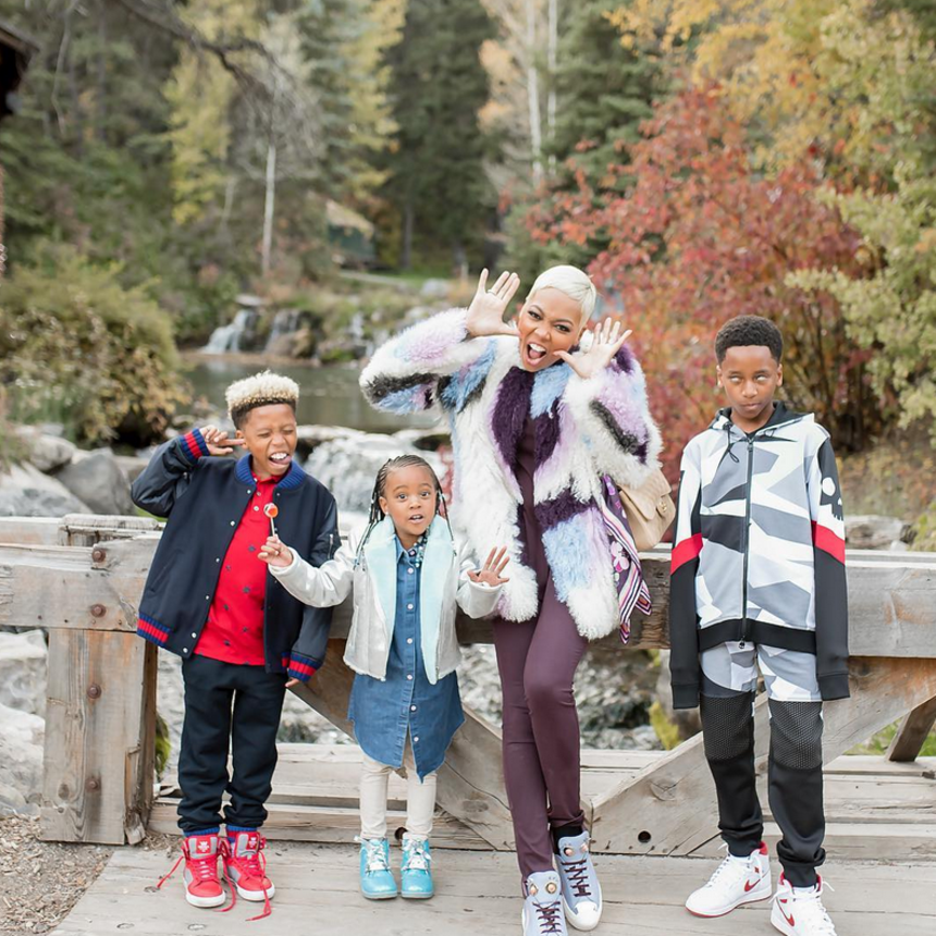 17 Cute Photos Of Monica And Her Kids That Are Too Adorable For Words