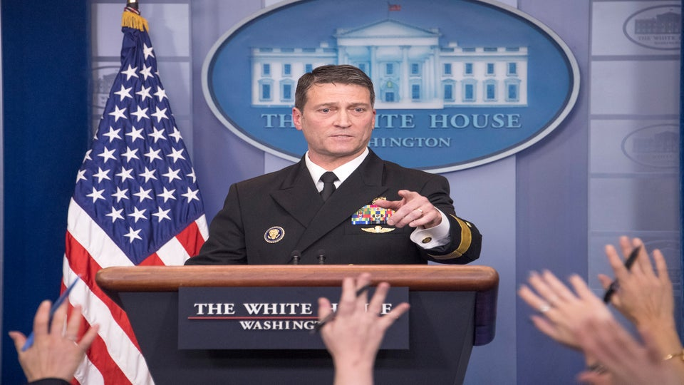 Trump Replaces Veterans Affairs Secretary David Shulkin With White House Doctor Ronny Jackson