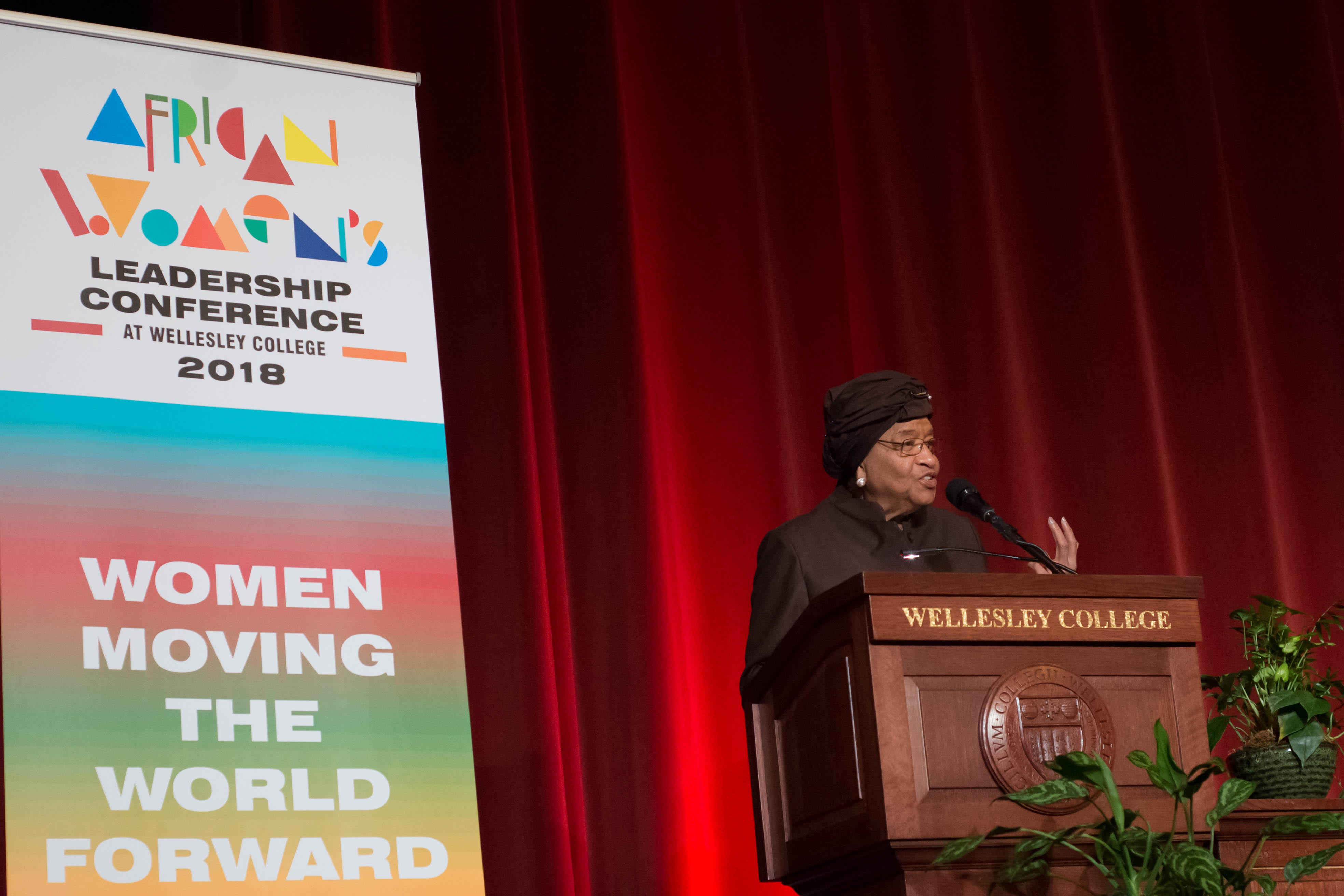 Former Liberian President Ellen Johnson Sirleaf Vows To Continue To Lead Women Of The World