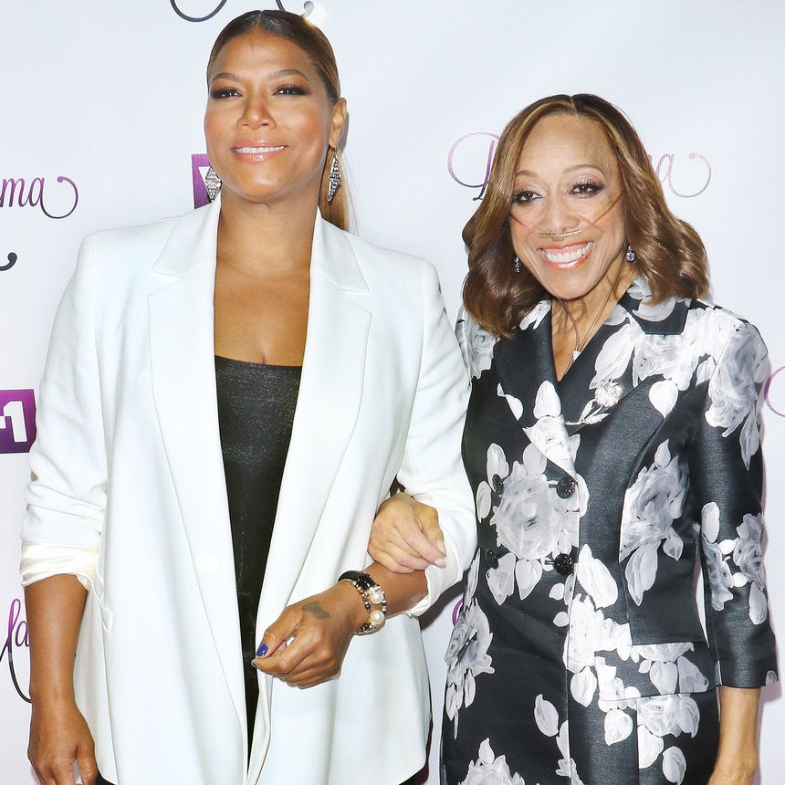 Queen Latifah Gets Emotional Talking About Her Mother's Death: 'I Was Scared To Come Here'