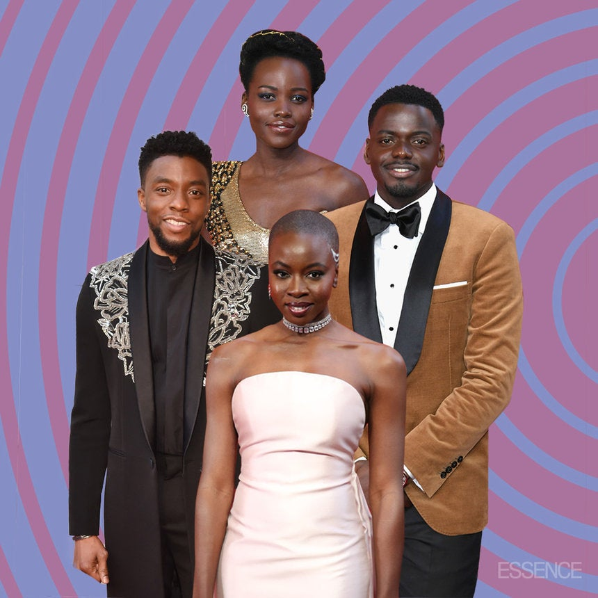 The 'Black Panther' Actors Were The Best Dressed Stars At The Oscars, Period