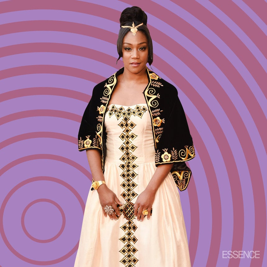 Tiffany Haddish ShutDown The Oscars Red Carpet In A Real African Princess Gown