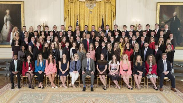 White House Criticized For Its All-White Spring Intern Class