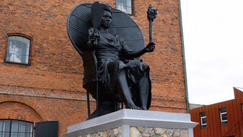 Two Black Female Artists Created Denmark's First Public Statue Of A Black Woman