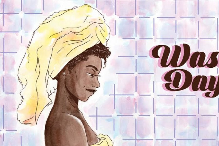 'Wash Day' Is the Comic Book That Celebrates Black Women and Their Natural Hair