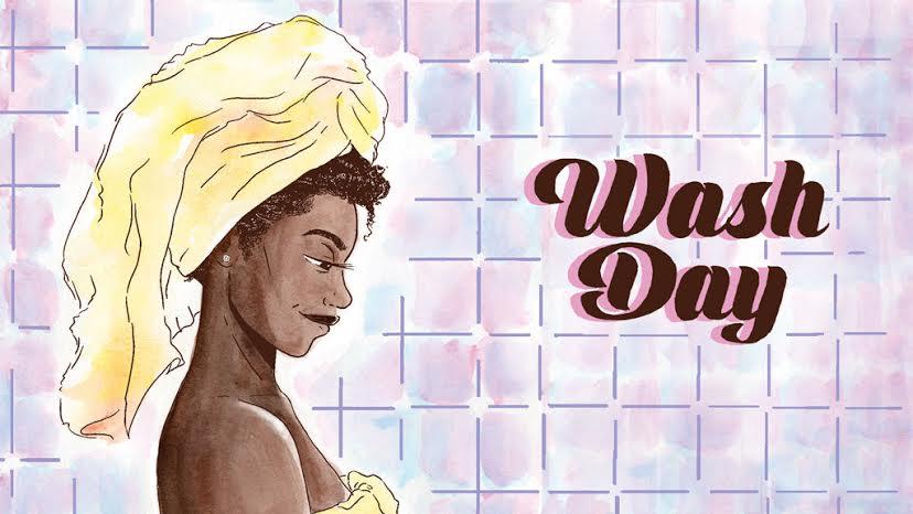 'Wash Day' Comic Book Celebrates Black Women and Natural Hair