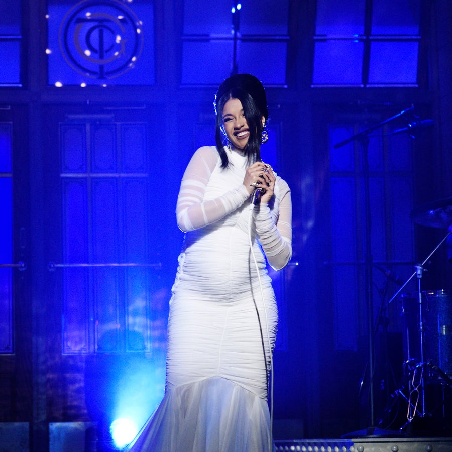 Cardi B Confirms Pregnancy On SNL As New Album Is Set For No.1 Debut