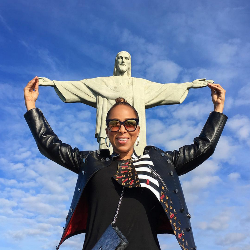 14 Times Marjorie Harvey's Vacation Photos Had Us Ready To Book A Trip