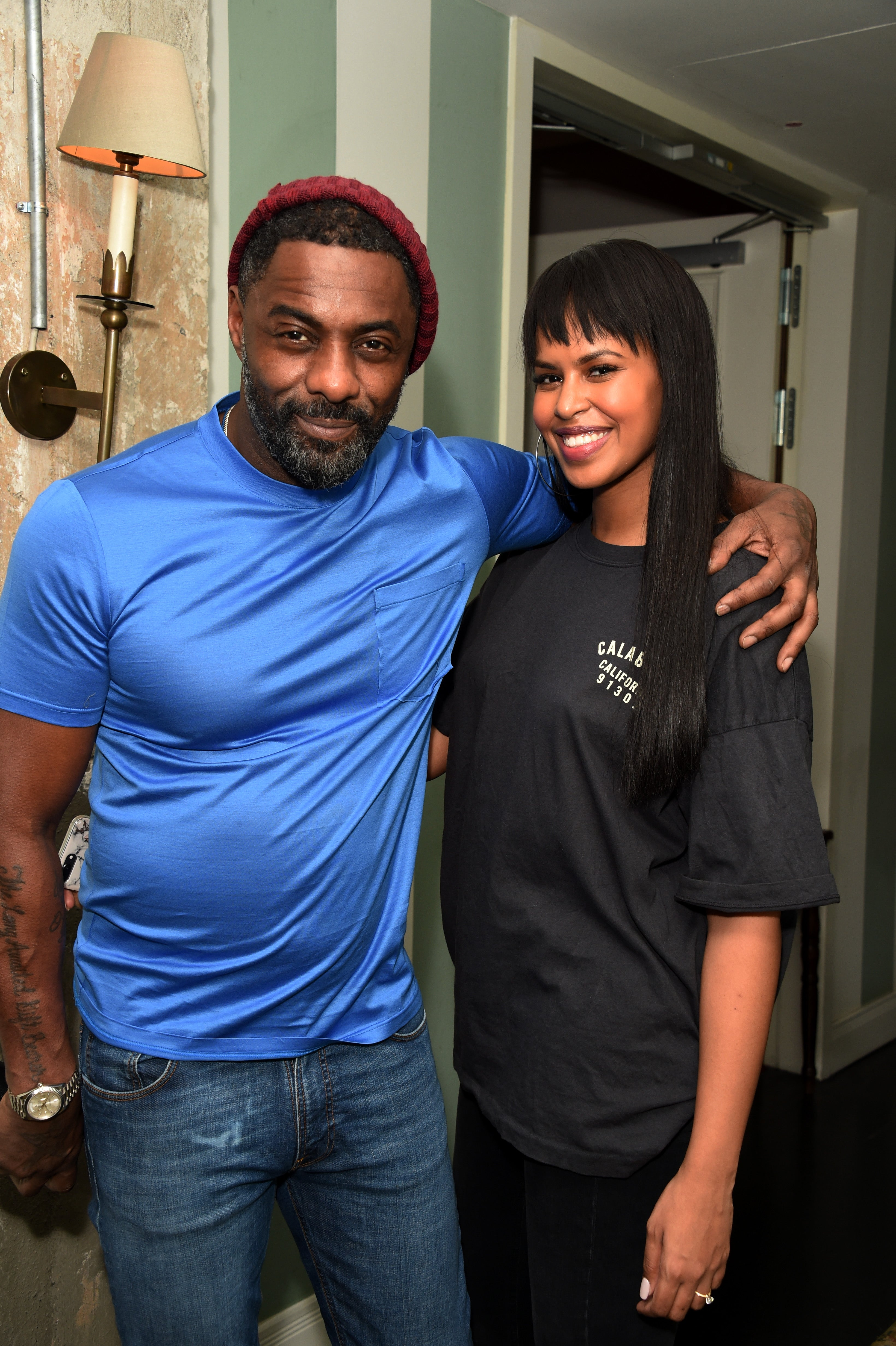 Idris Elba Fiance: Idris Elba And Fiancée Sabrina Dhowre's Love In Pictures