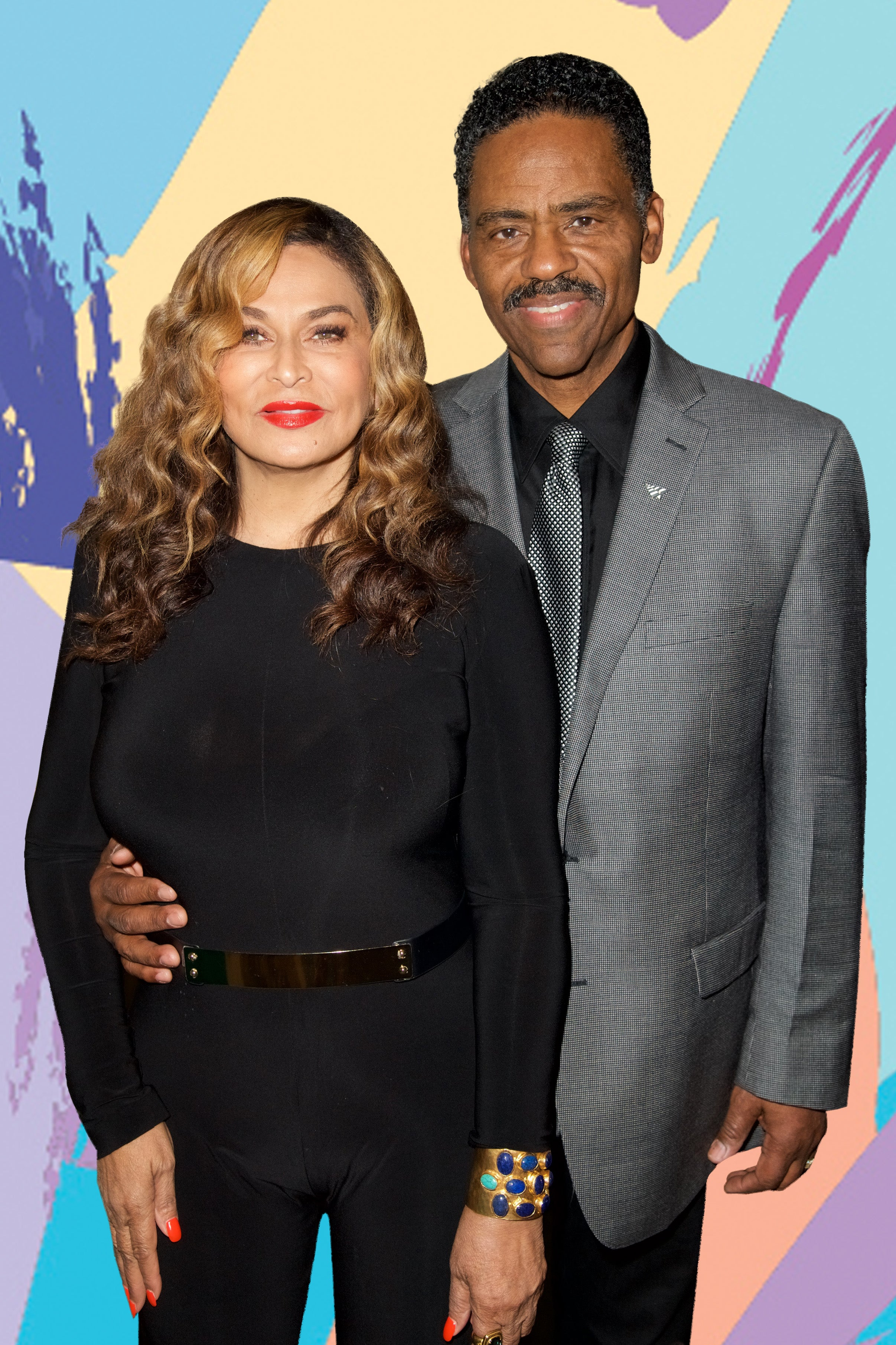Tina Knowles Lawson and Richard Lawson Double Dated With Steve and Marjorie Harvey to See The OTRII Tour In France