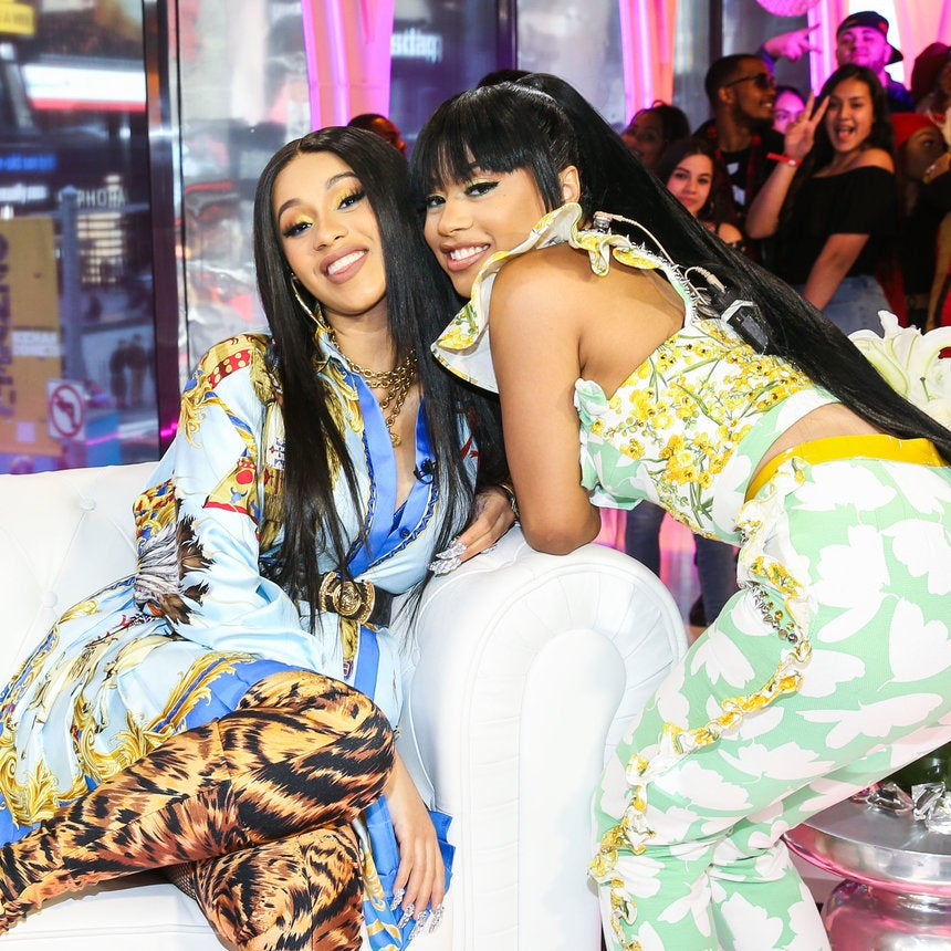 Cardi B's Sister Gifts Her With Gucci Purse After Secretly Borrowing Hers