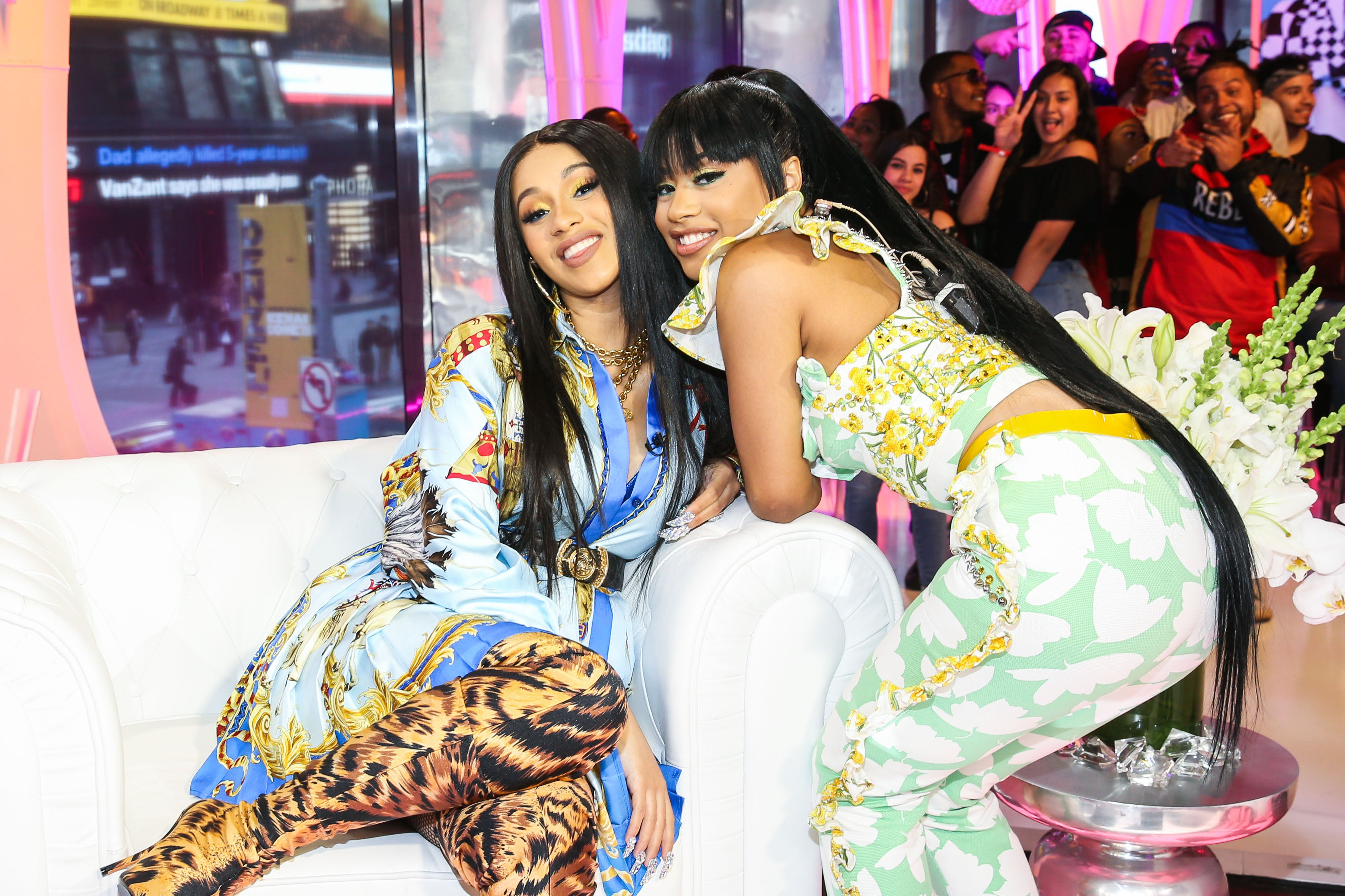 62d8b27a21e Cardi B s Sister Gifts Her With Gucci Purse After Secretly Borrowing Hers