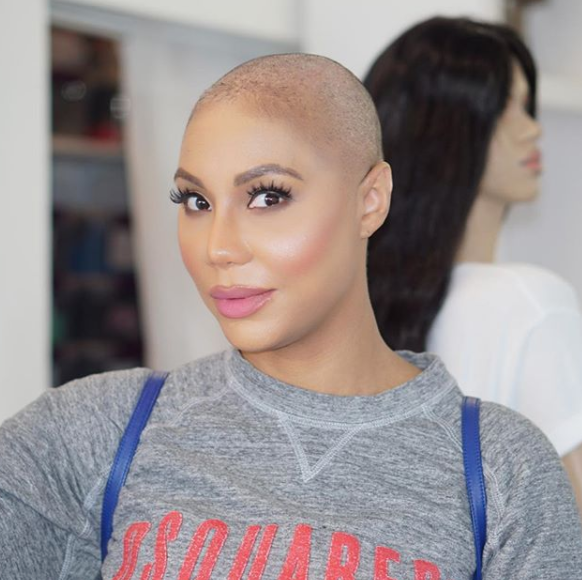 Tamar Braxton Shows Us How To Rock A Shaved Head Beautifully Essence