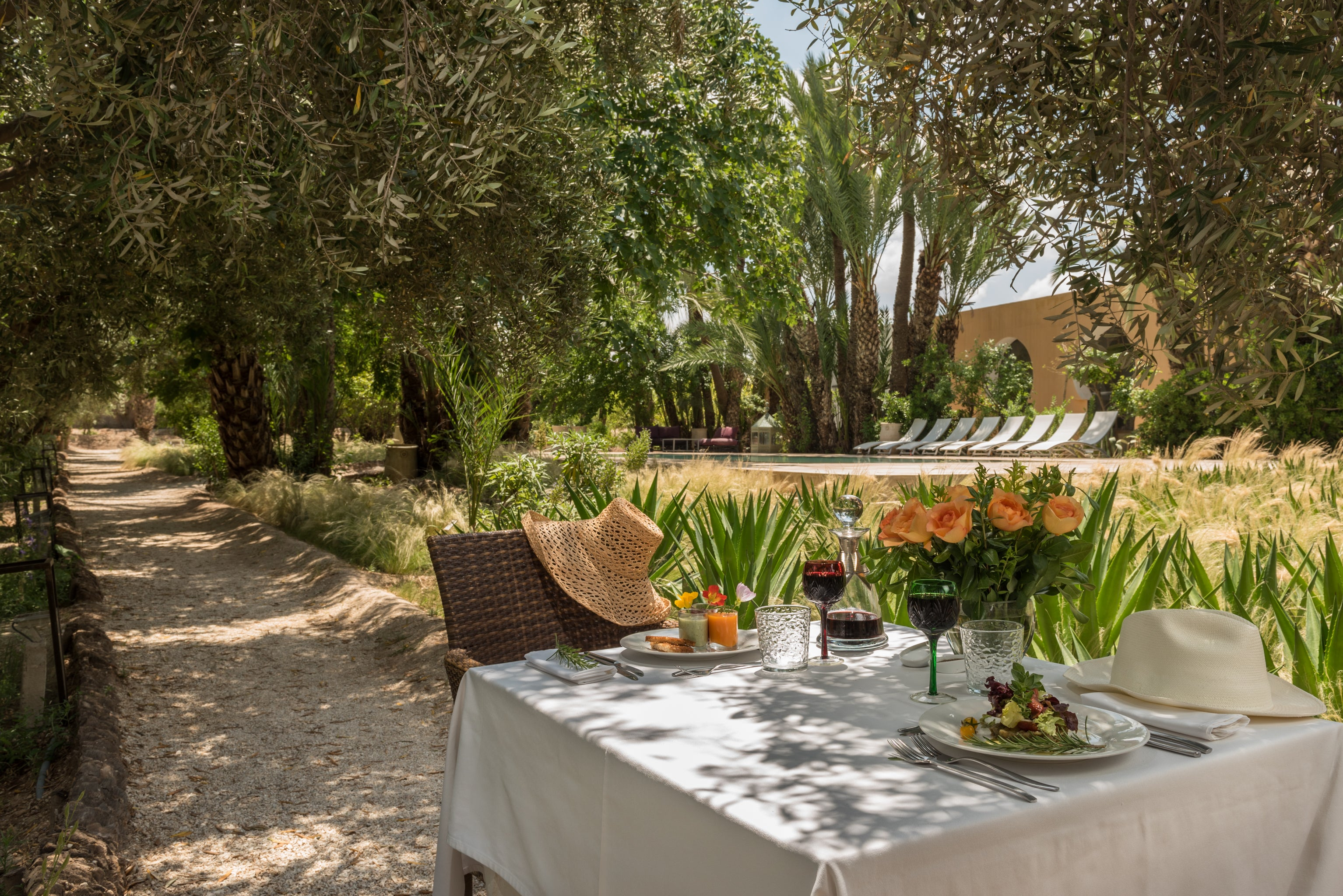 The Black-Owned Marrakech, Morocco Boutique Hotel, Jnane Tamsna- Essence