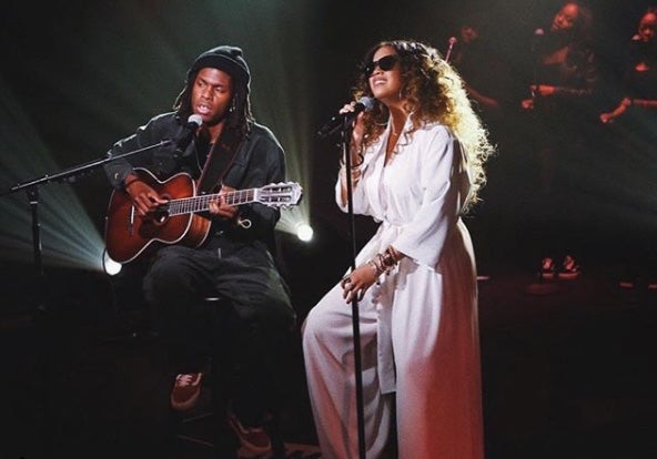 WATCH: Daniel Caeser Brings Out H.E.R. For A Live Performance Of 'Best Part' At Coachella