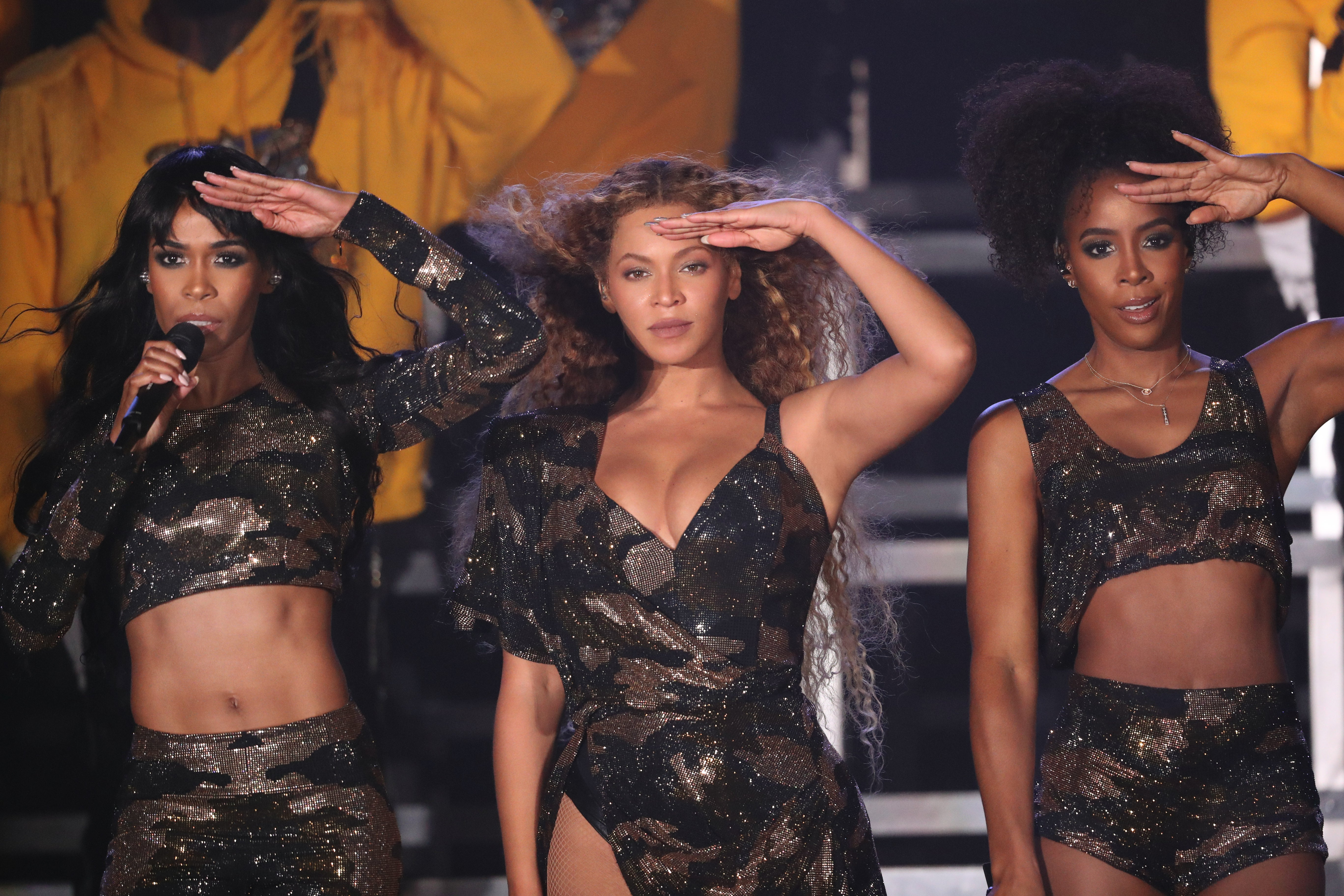 Destiny's Child Reunited During Beyoncé's History-Making Coachella Performance And It Was Iconic