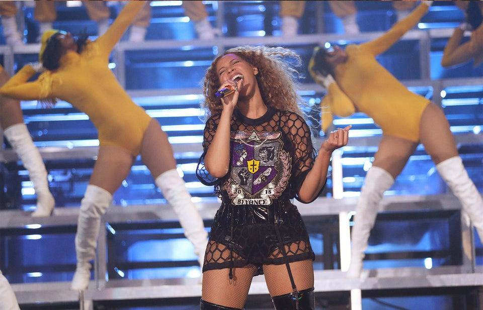 Beyoncé's Coachella 2018 Performance Photos