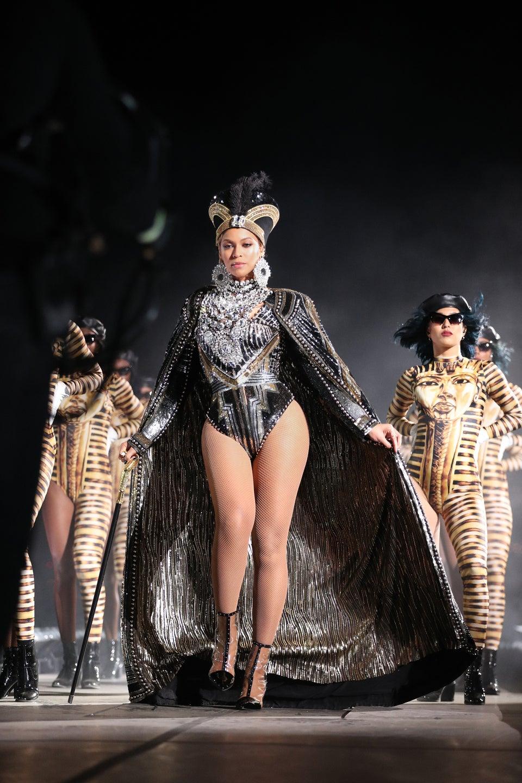 Beyoncé's Coachella Costumes Balmain