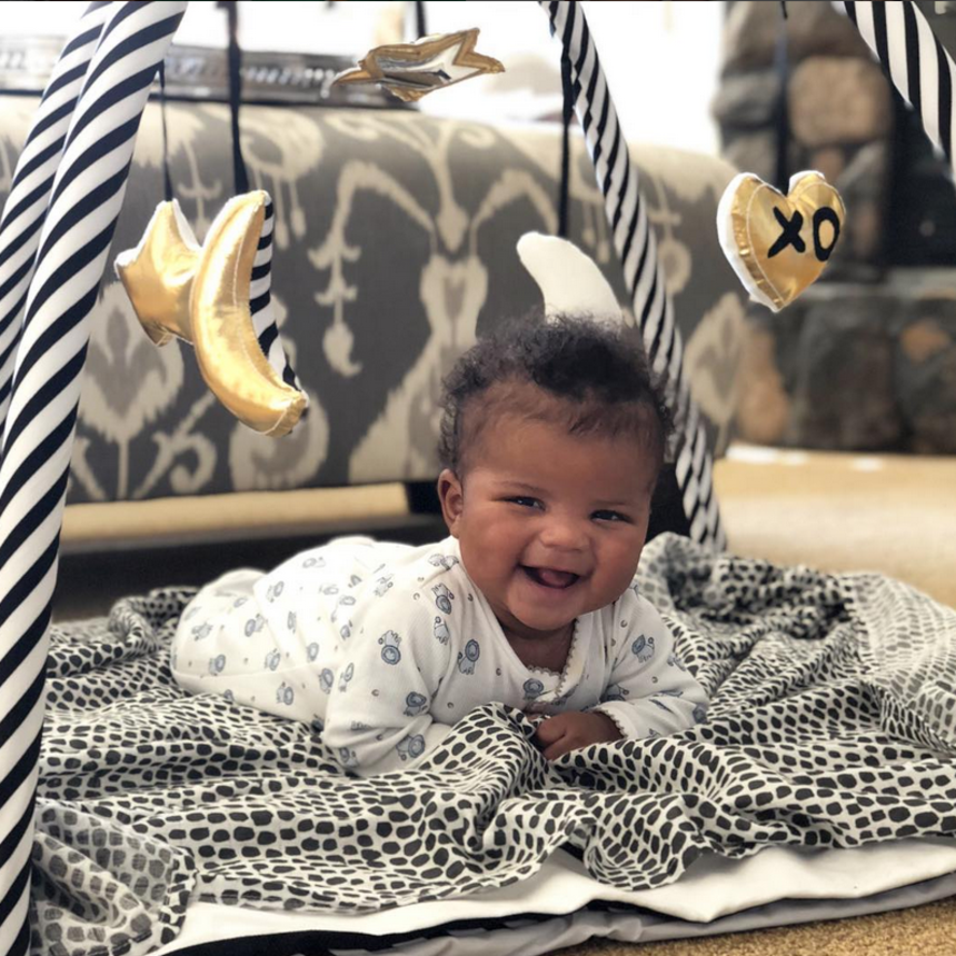 11 Photos Of Kevin And Eniko Hart's Son Kenzo Looking Like The Happiest Baby Ever