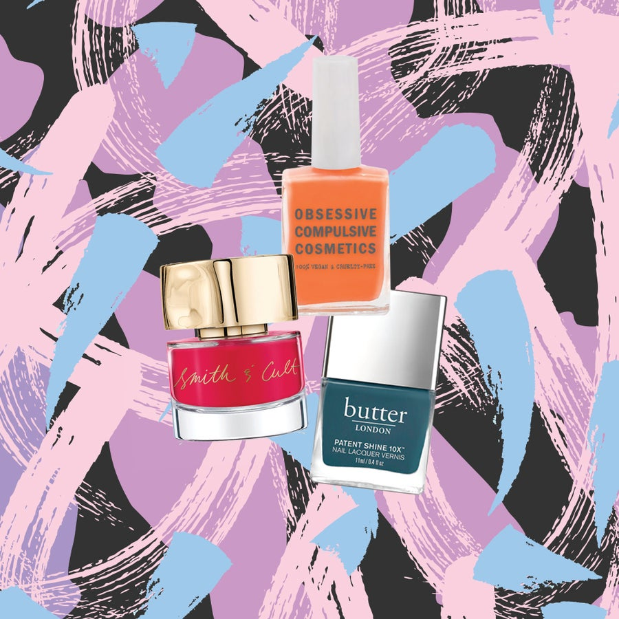 7 Non-Toxic Nail Polishes That Deliver Major Color And Don't DestroyYour Nails