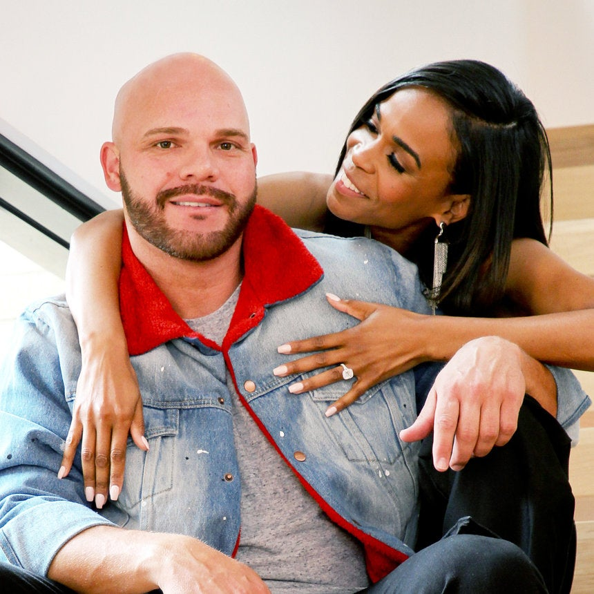 Exclusive: Michelle Williams And Her Fiancé Chad Johnson's Super Sweet Engagement Photos