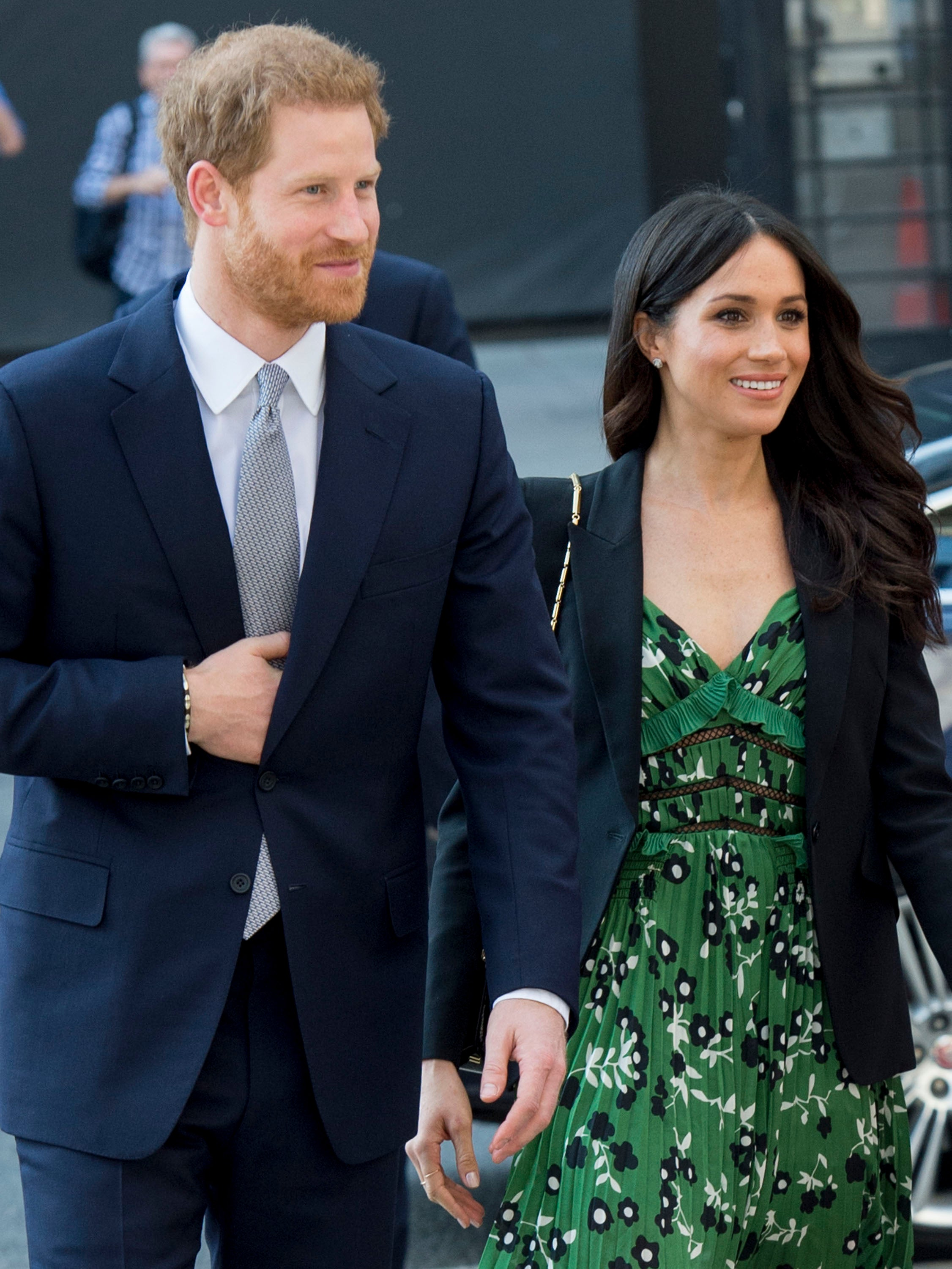 Doting Husband Prince Harry Reportedly Worries About Press 'Hysteria' Over Meghan Markle