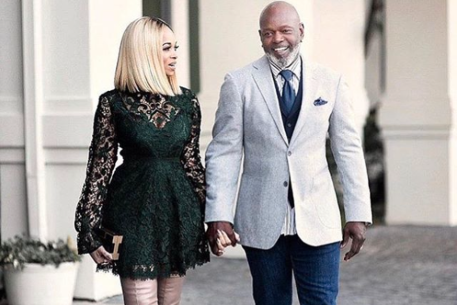 Image result for Pat And Emmitt Smith Celebrate Their 18th Wedding Anniversary and Drop Major Marriage Gems