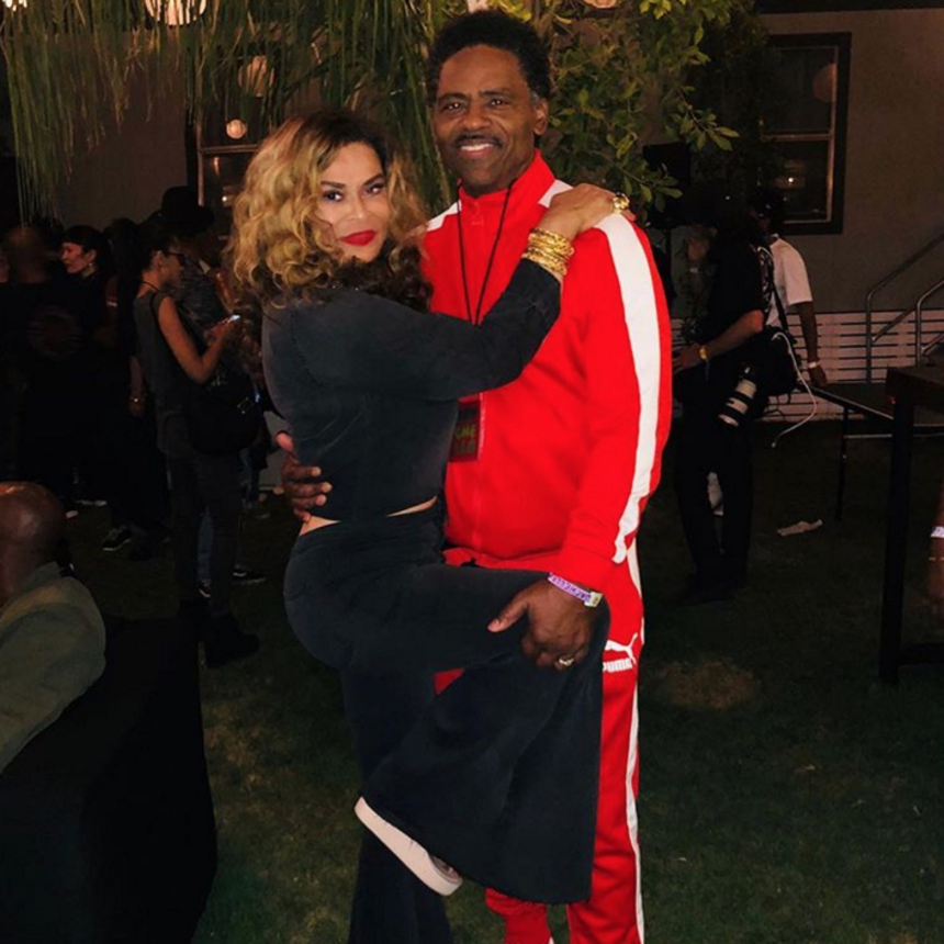 Tina Knowles Lawson Got Super Cozy With Her Hubby Richard Lawson At Beychella And We're Obsessed