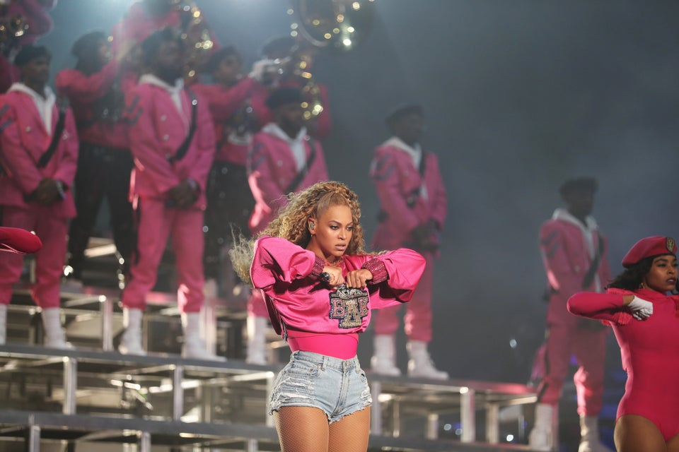 Beyhive Unite!Here Are TheCelebrities WhoCame Out To Support Beyoncé At Coachella