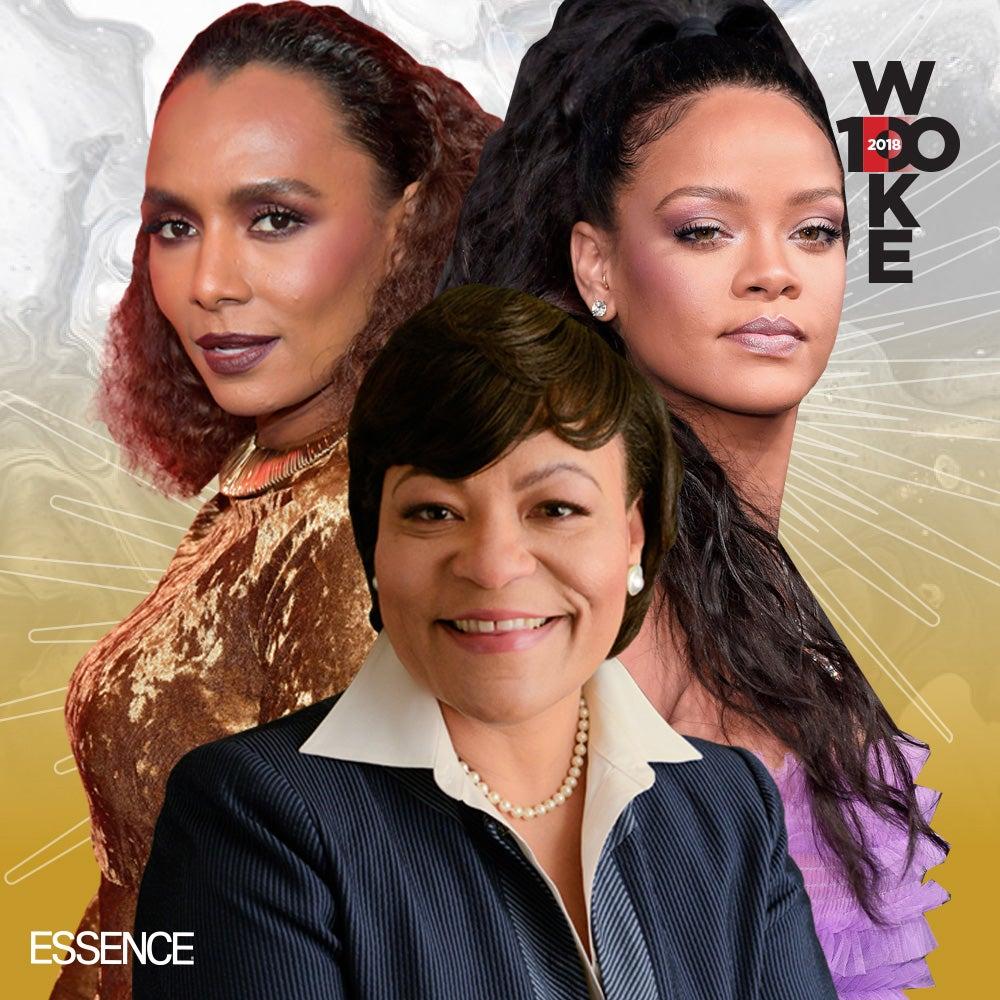 Essence Presents 2018s Woke 100 Women Essence