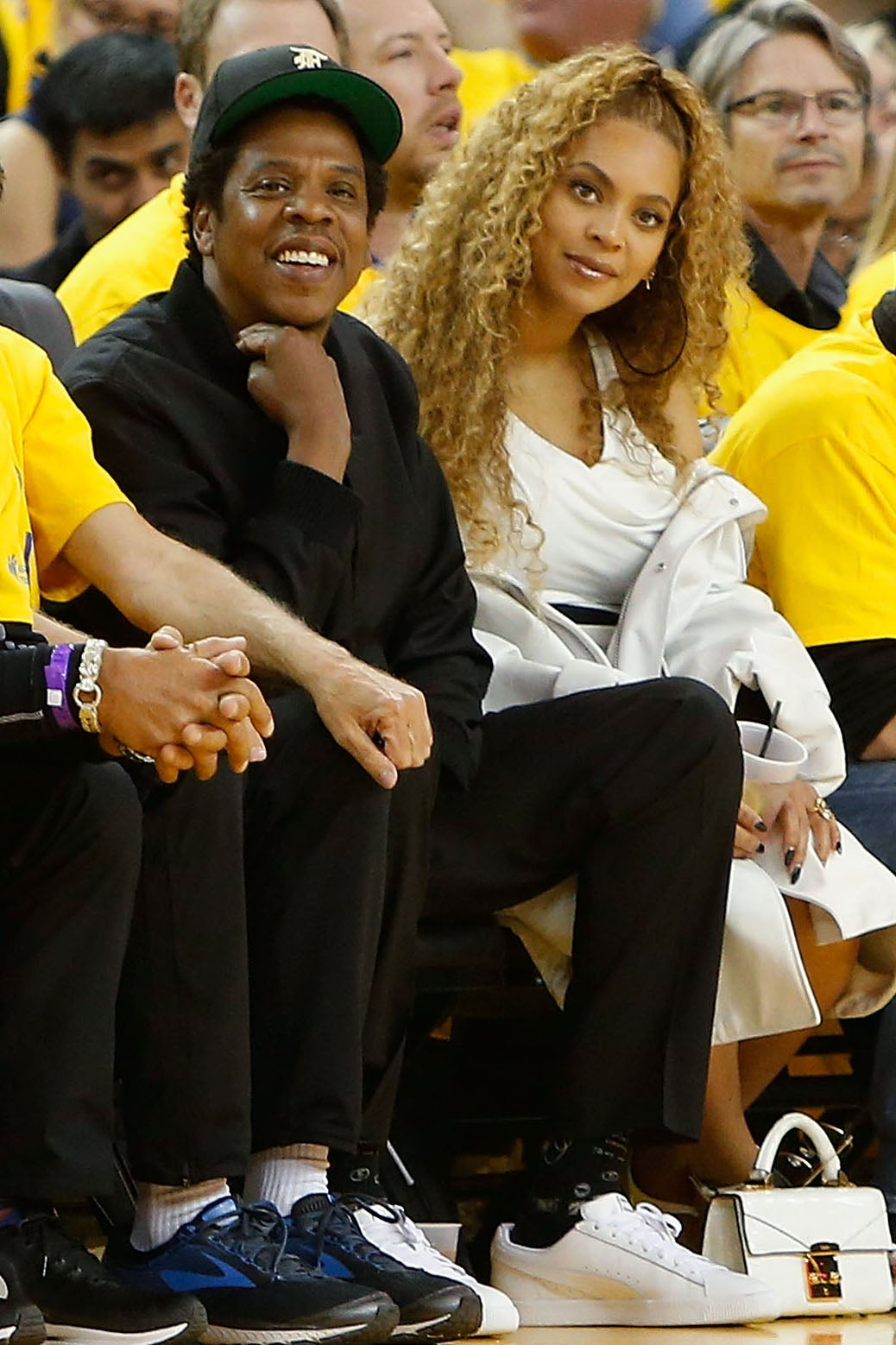 37246b2e109be7 Beyoncé And JAY-Z Had Another Flawless Courtside Date Night at the NBA  Playoffs