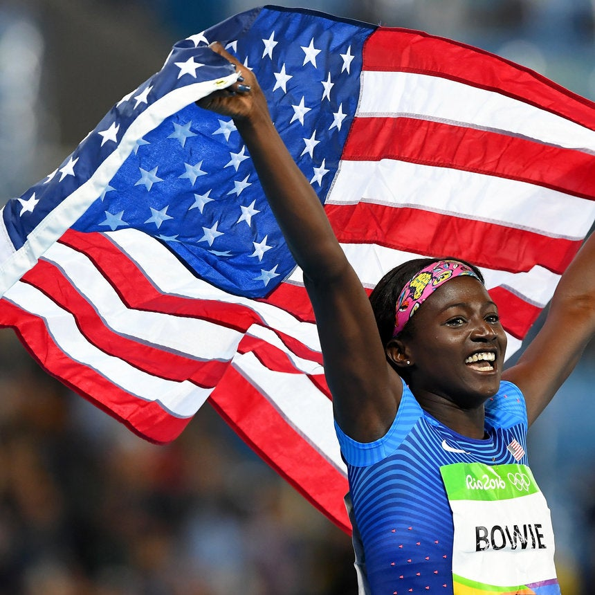 This Is The Secret To Olympic Medal Winner Tori Bowie's Flawless Skin