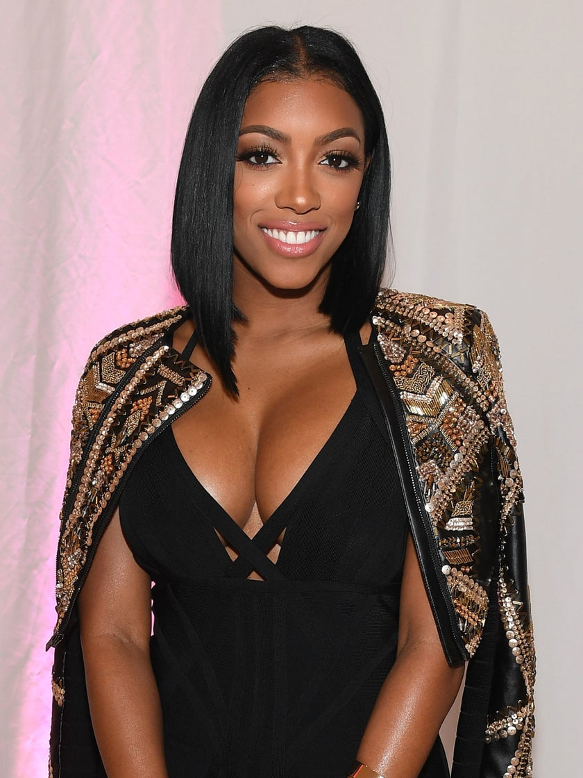 Porsha Williams Has A New Red-Hot Hair Color