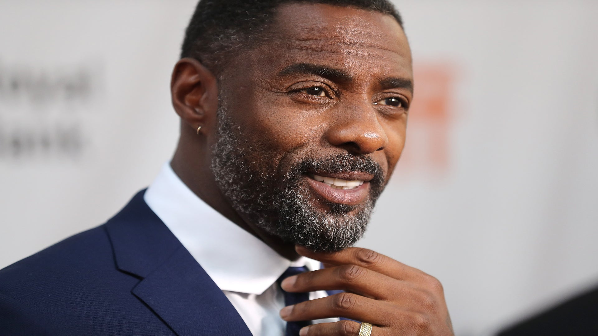 Idris Elba Is People Magazine's Sexiest Man Alive Because Water Is Wet