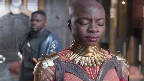 This Deleted 'Black Panther' Scene Is The Deeper Dive We Needed Into Okoye and W'Kabi's Marriage