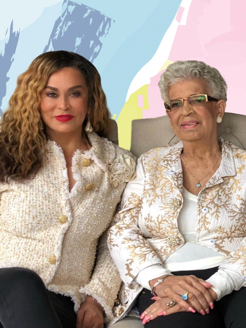 This Photo Of Tina Knowles-Lawson And Her 92-Year-Old Sister ...