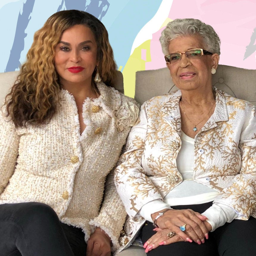 This Photo Of Tina Knowles-Lawson And Her 92-Year-Old Sister Is All The Proof You Need That Black Don't Crack